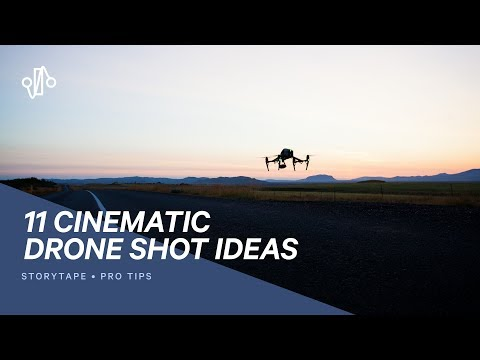 11 ESSENTIAL DRONE SHOTS TO TRY - Cinematic Drone Shot Ideas