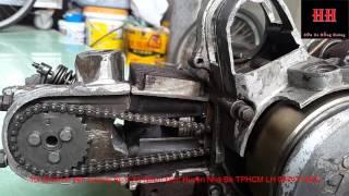 Sửa xe Cùi Bắp _Nguyên lý hoạt động của động cơ xe máy 4 thì