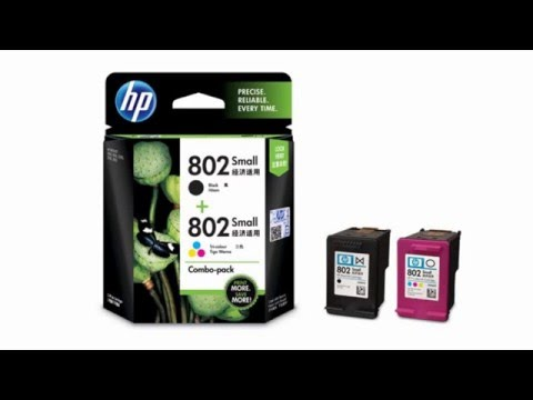 Hp Cartuchos de tinta Ch562zz 802s Use with Officejet 1050,2050,1010,1000 Ink Cartridge  SALE