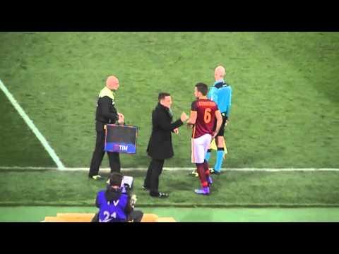 Roma-Palermo, Kevin Strootman ritorna in campo dopo l'infortunio. Ovazione del pubblico