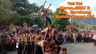 Gerak Jalan Terbaik Se Indonesia SMU 2 Kab.Enrekang