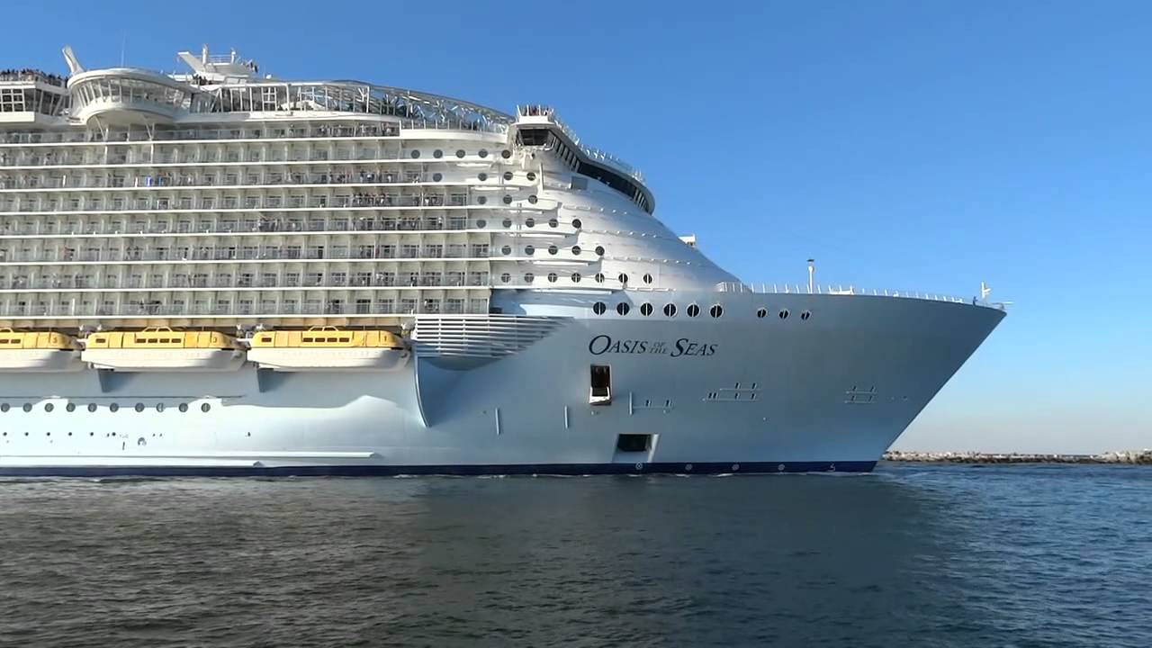 Oasis Of The Seas Leaving Fort Lauderdale
