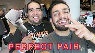 """RESELLING SHOES TO """"PERFECT PAIR"""" + DYING HAIR PRANK! (Vlog #95)"""