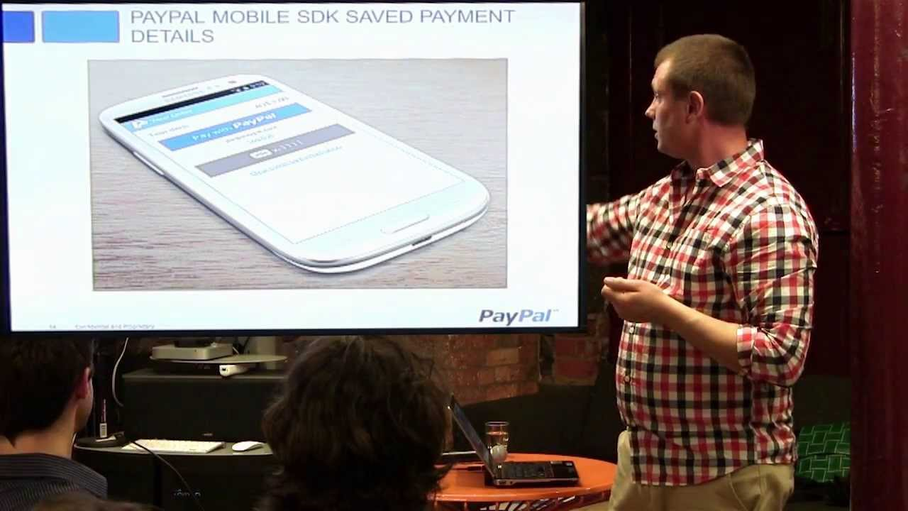 Tools and Services for Mobile - PayPal Mobile SDK - Jimmie Lindstrom