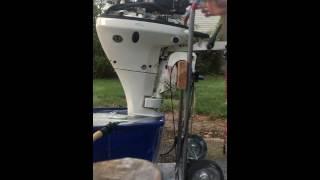 9.9 Johnson outboard motor