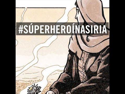 #SúperHeroínaSiria Madaya Mom, nueva heroína de Marvel