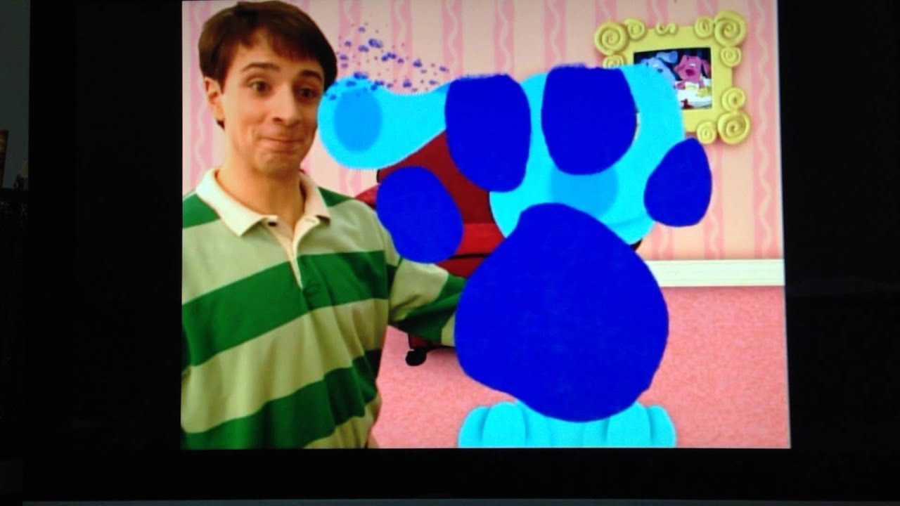 Blue's Clues Pawprint Cleanup Season 1 Episode 19 - YouTube