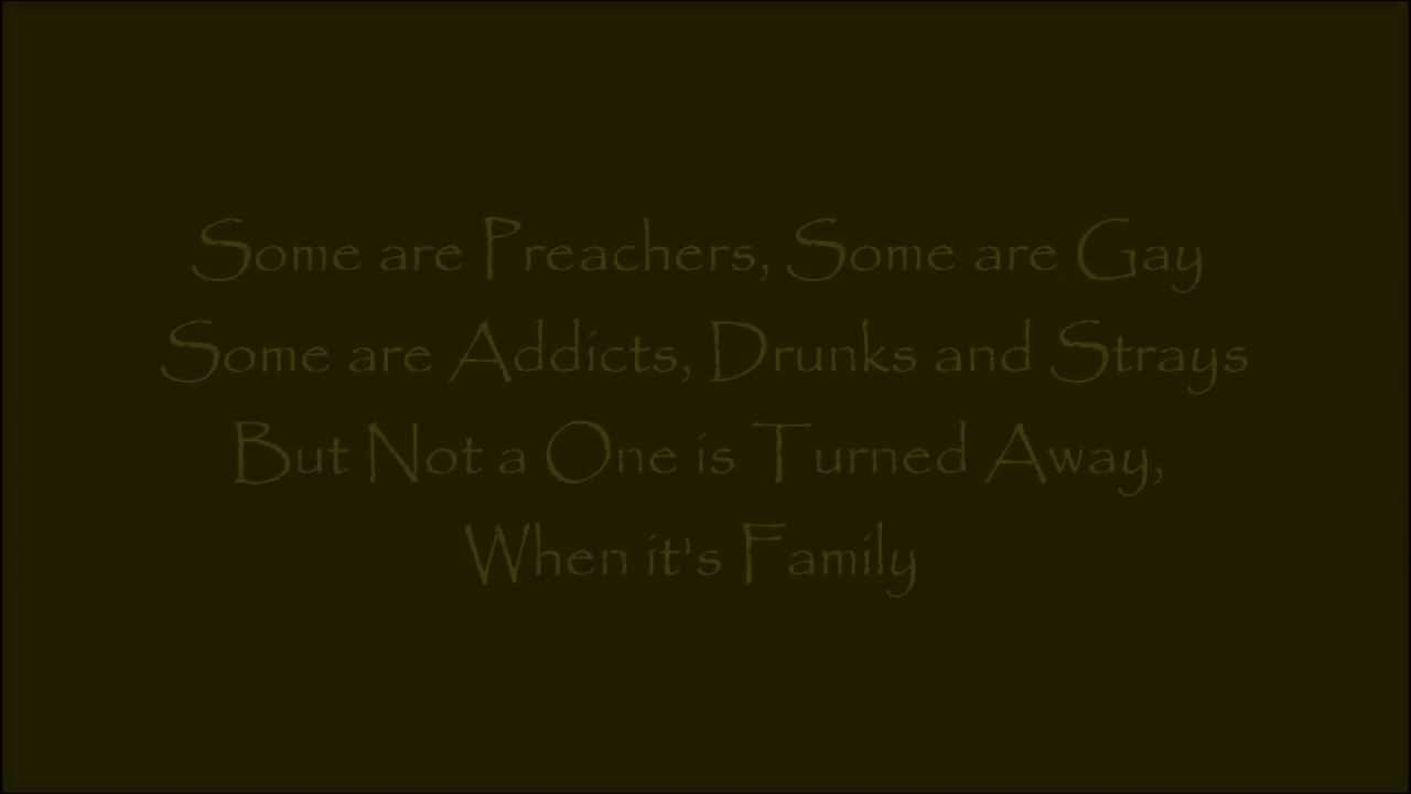 Family By Dolly Parton With Lyrics Youtube