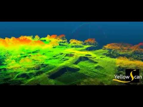 yellowScan:Lidar & drone used in archeology - Lidar & drone