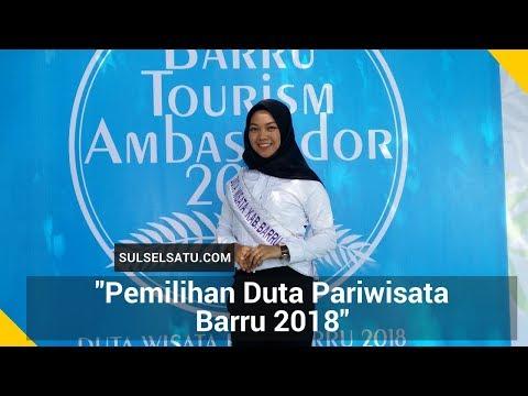 Pemilihan Duta Pariwisata Barru 2018