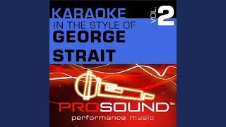 I Cross My Heart (Karaoke Instrumental Track) (In the style of George Strait)