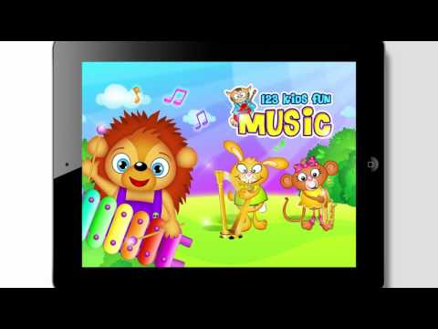 123 Kids Fun MUSIC Top Educational and Music Games for Preschool Kids and Toddlers Application