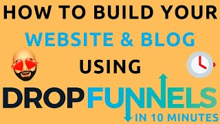 How To Make A Website Using DropFunnels w/ FREE Hosting + SSL + Domain