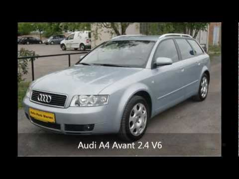 audi a4 avant 2 4 v6 gebrauchtwagen youtube. Black Bedroom Furniture Sets. Home Design Ideas