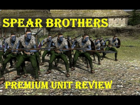 Total War: Arena - Spear Brothers Tier IV Premium Barbarian Spears Review + Gameplay