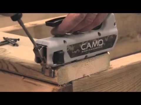 Camo Hidden Deck Fastening System Youtube