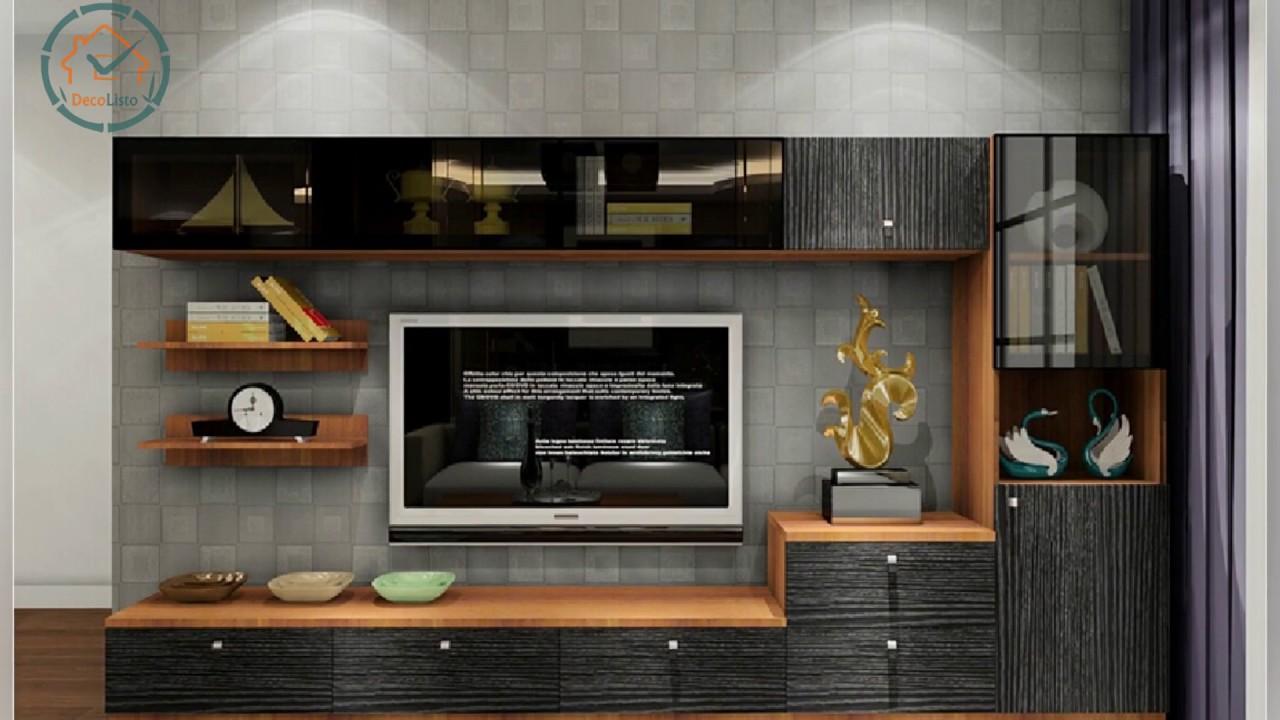 Modern TV Cabinet for Living Room   DecoListo - YouTube