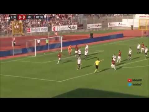 Лугано - Милан 0:4 видео