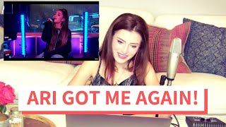 Download lagu Voice Teacher Reacts to Ariana Grande - God is a Woman (Live at the BBC Lounge)