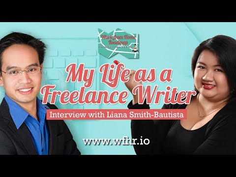 🔴 My Life as A Freelance Writer | Liana Smith-Bautista | JasSuccess 025