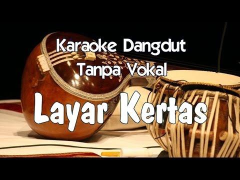 Karaoke Layar Kertas (Tanpa Vokal)