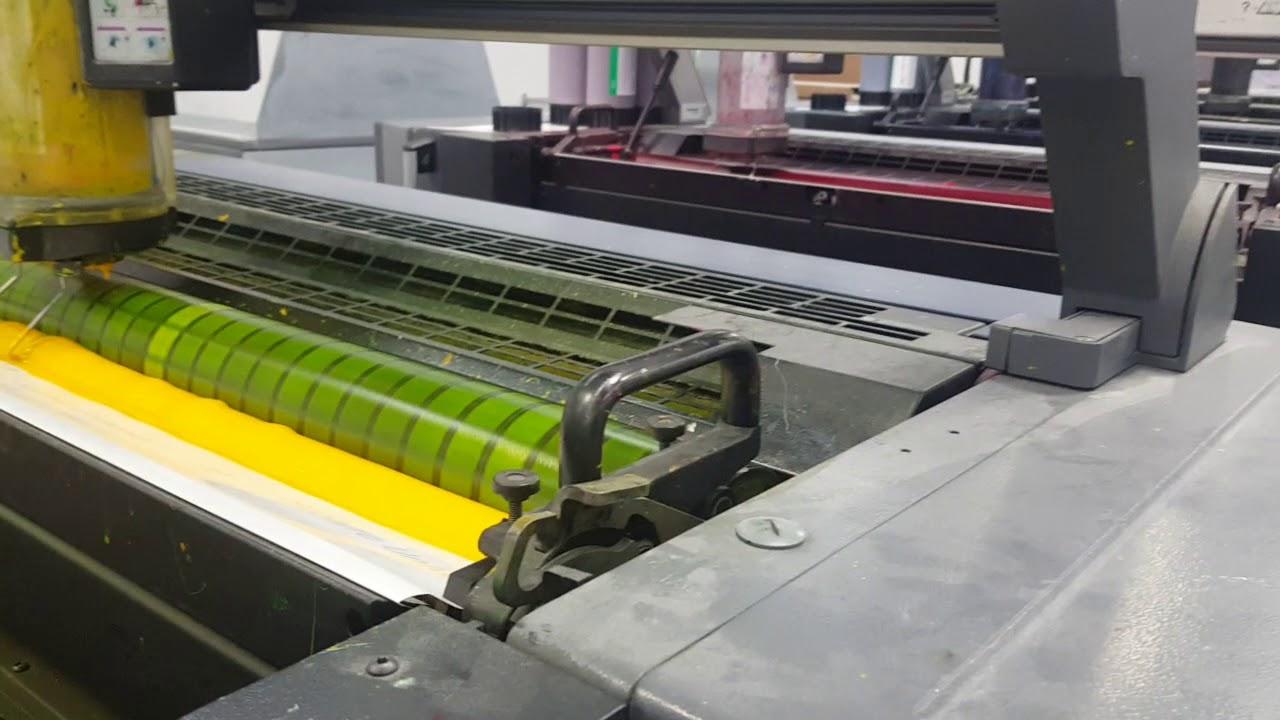 Modern Day Printing Press