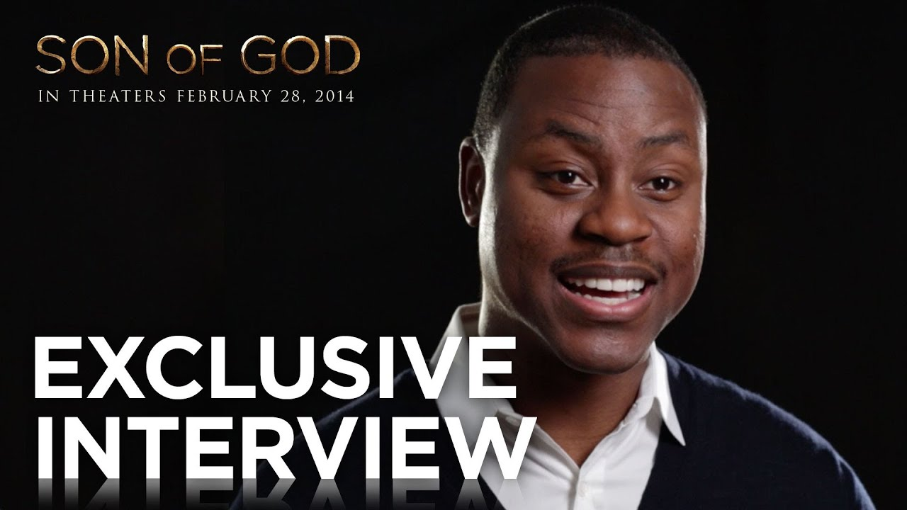 "Son of God | Charles Jenkins ""Peter Goes Fishing"" Exclusive Interview 