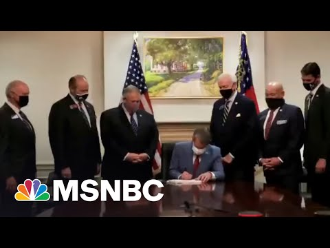 'Who Says Activism Is A Waste Of Time?': CEOs Pivot On Georgia Law Amid Pressure | All In | MSNBC