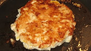 homemade CHICKEN PATTIES - CHICKEN BURGERS for the freezer, how I make them, how I freeze them, GOOD