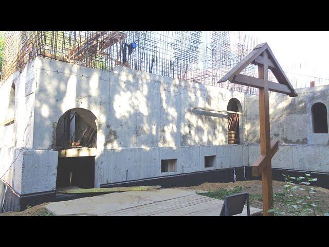 Восстановление храма на территории СИЗО «Матросская Тишина»