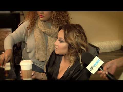 Adrienne Bailon: Exclusive behind the scene video