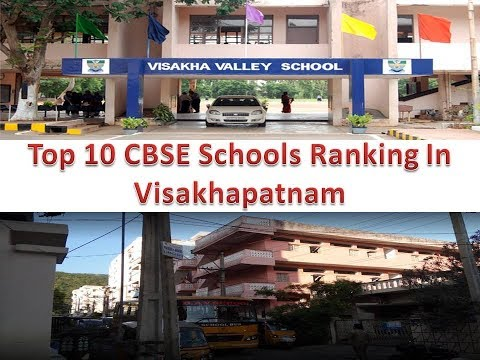 Top 10 CBSE Schools Ranking In Visakhapatnam