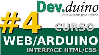 TCWA1 #4/6 - Criação da Interface em HTML e CSS - Dev.duino #05