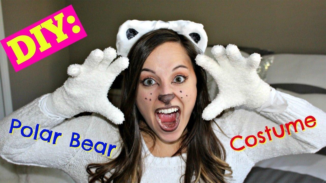 DIY Polar Bear Costume  sc 1 st  YouTube & DIY Polar Bear Costume - YouTube
