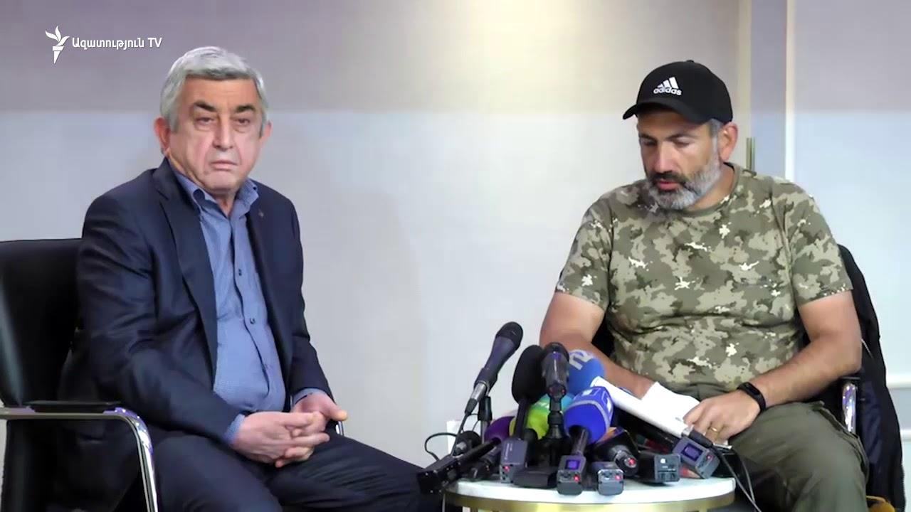 Սերժ Սարգսյանը հորդորել է չհուսահատվել ու սպասել նոր կառավարության տապալմանը