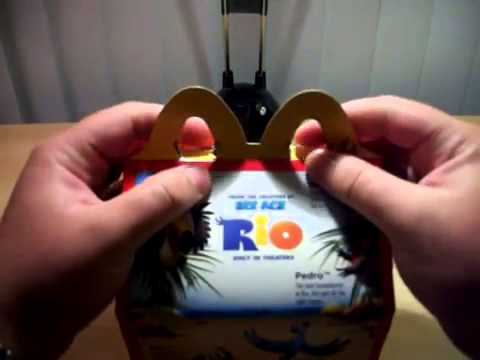 Mcdonald's Happy Meal Toy Promotion  Rio The Movie