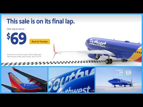 Southwest Airlines 72 hour sale offers round trips for under $100 - Daily News