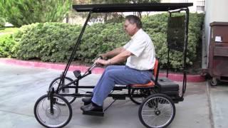 Solar Powered Quadricycle!