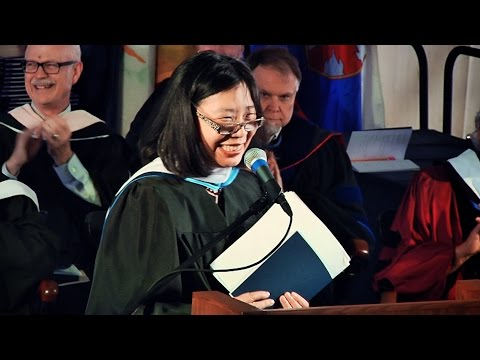 Commencement 2016: Lan Samantha Chang (Intro by President Burstein)