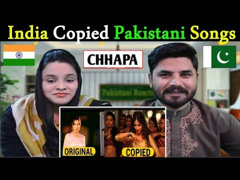 Pakistani Reacts To | Bollywood Copied Pakistani Songs | World's Biggest CHHAAPA