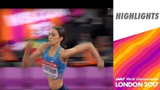 WCH London 2017 Highlights - High Jump - Women - Final - Lasitskene wins!