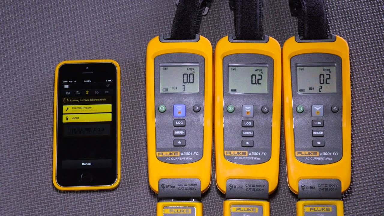 Multimeter connects to your smart phone |