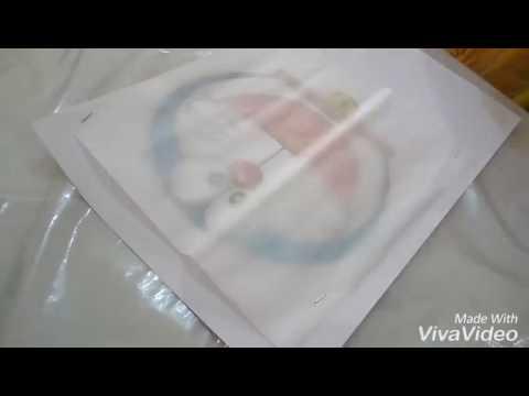 Cara melukis puding  Delish Dessert  Doraemon