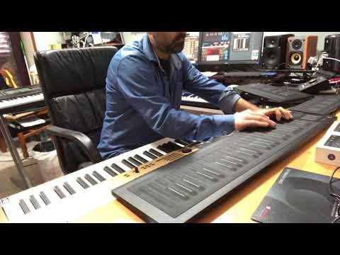 MPE Guitar Library and Roli Seaboard Rise - Lightpad M