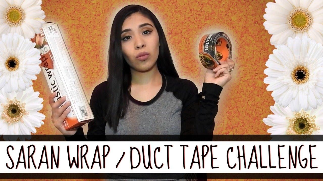 Fetish tape plasticwrap