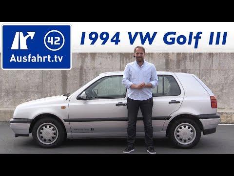 1994 Volkswagen VW Golf III 1.9 TDI - Kaufberatung, Test, Review, Historie