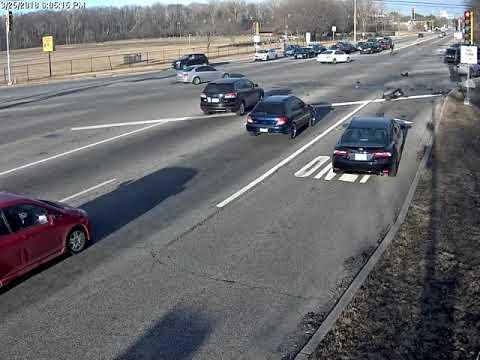 Traffic Camera Footage of Fatal Crash at Golf & Rand, Des Plaines