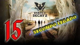🔴 AGUA Y ELECTRICIDAD!!! - SEGUNDO LEGADO - STATE OF DECAY 2 - DIA 12!!!