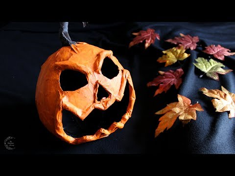 Paper Mache Pumpkin Tutorial | DIY Halloween Decor | The Sweetest Journey