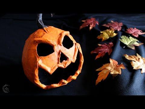 Paper Mache Pumpkin Tutorial | DIY Halloween Decor | The Sweetest Journey